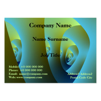 Jade Labyrinth Chubby Business Card Pack Of Chubby Business Cards