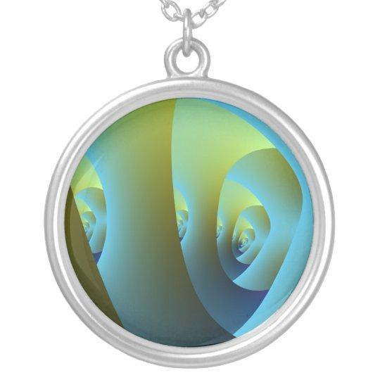 Jade Labyrinth Necklace