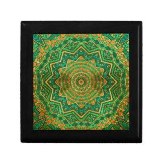 Jade mandala gift box