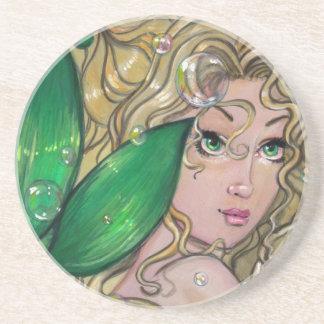 Jade Mermaid Coaster