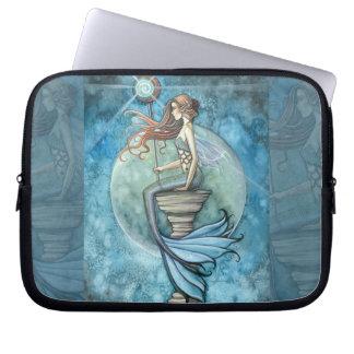 Jade Moon Mermaid Laptop Sleeve