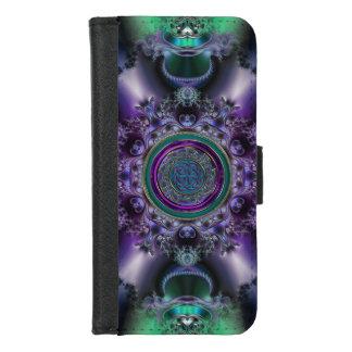 Jade 'n Amethyst Celtic Fractal iPhone Wallet Case