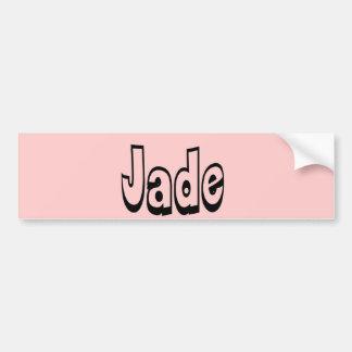 Jade Pegatina Para Auto