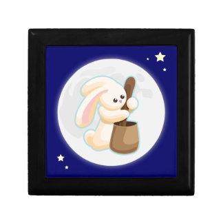 Jade Rabbit Keepsake Box