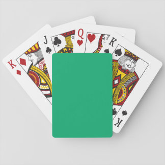 Jade Solid Color Deck Of Cards