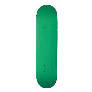 Jade Solid Color Skateboard Deck