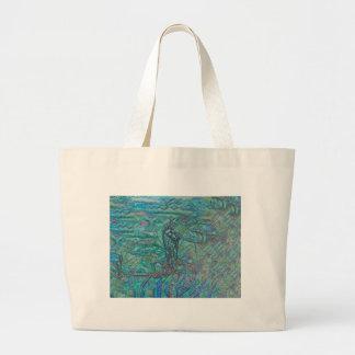 Jade Steed Large Tote Bag