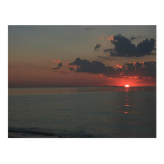Jade Sunset Postcard