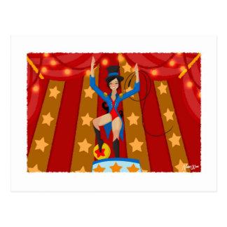 Jade the Circus Director Postcard