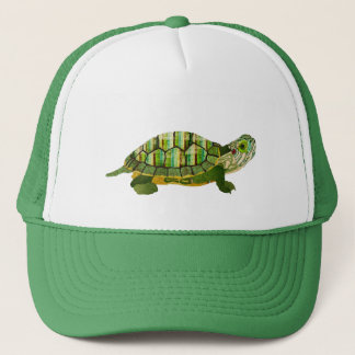 Jade Turtle  Lid Trucker Hat