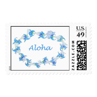 Jade Vine and Tuberose Lei Stamps