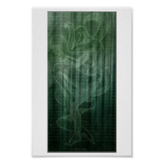 jade wall print