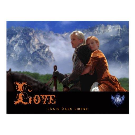 JADE y ARRA - tarjeta del Amor-Poste Postal