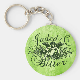Jaded and Bitter Key Chain