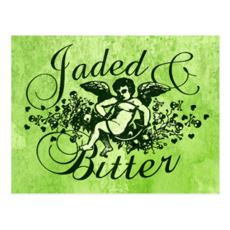 Jaded and Bitter Postcard
