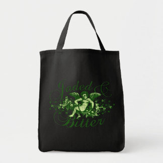 Jaded and Bitter Tote Bags