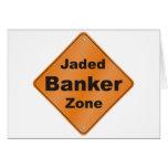 Jaded Banker Card