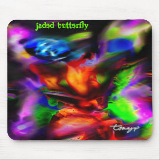 """Jaded Butterfly"" Mousepad - Customized"