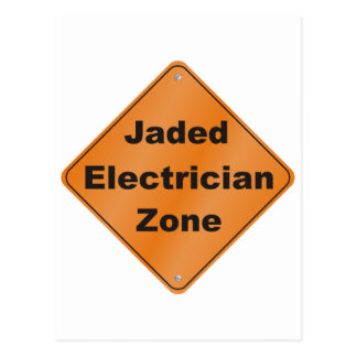 Jaded Electrician Postcards