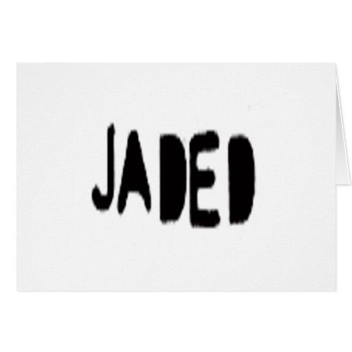Jaded Greeting Cards