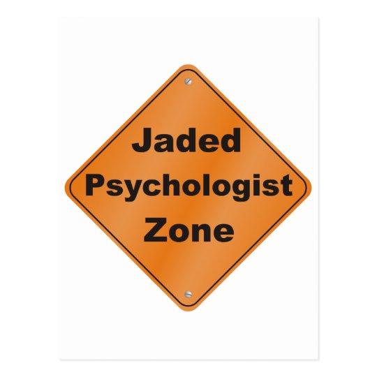 Jaded Psychologist Postcard