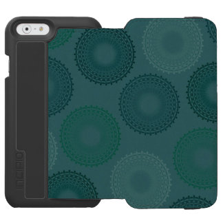 Jaded Teal Lace Doily Incipio Watson™ iPhone 6 Wallet Case