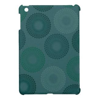 Jaded Teal Lace Doily iPad Mini Covers