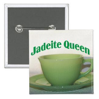 Jadeite Queen Button