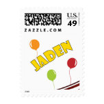 Jaden with Balloons Stamp