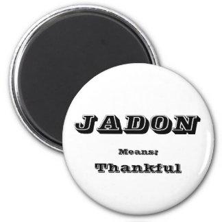 Jadon 2 Inch Round Magnet