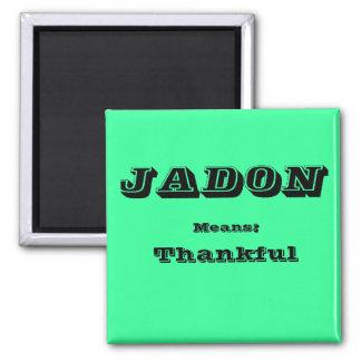 Jadon 2 Inch Square Magnet