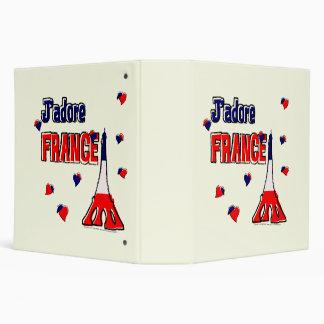 """J'adore France 2"""" Binder"""