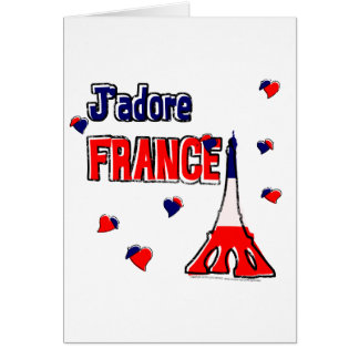 J'Adore France Card