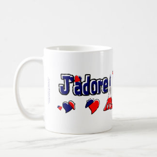 J'Adore France Classic White Coffee Mug