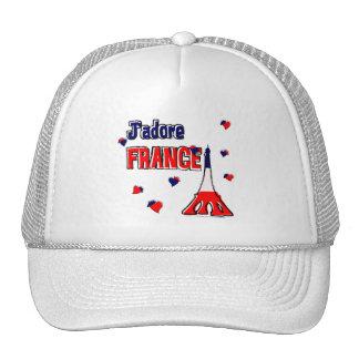 J'Adore France Trucker Hat