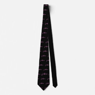J'adore French Saying Tie