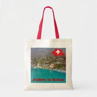 J'adore la Suisse Tote Bag