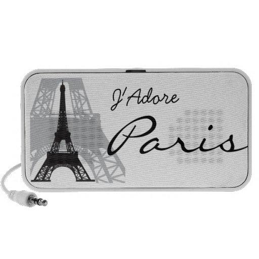 J'Adore Paris Mini Speakers