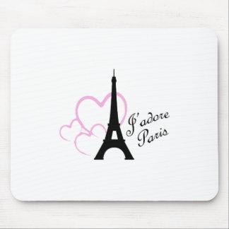 Jadore Paris Mouse Pad