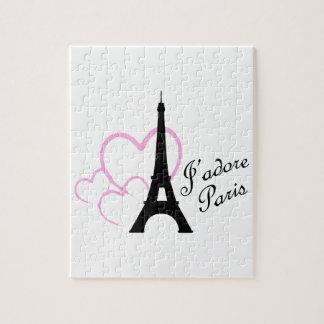 Jadore Paris Jigsaw Puzzles