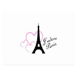 Jadore París Tarjetas Postales