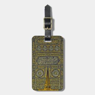 Jadye árabe musulmán islámico Kaaba de la Etiquetas Para Maletas