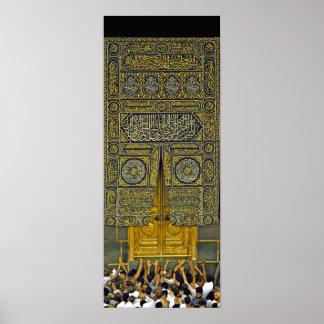 Jadye árabe musulmán islámico Kaaba de la Póster