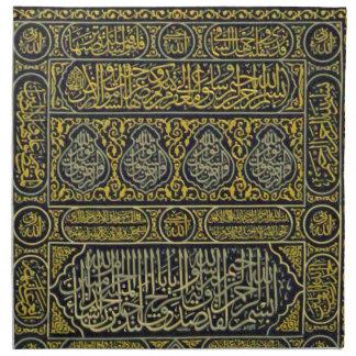 Jadye árabe musulmán islámico Kaaba de la Servilleta