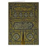 Jadye árabe musulmán islámico Kaaba de la Tarjeta De Felicitación