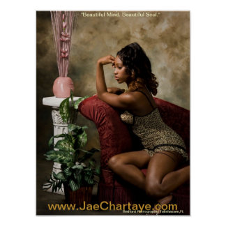 """Jae Chartaye """"beautiful mind"""" Poster"""