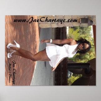 Jae Chartaye in OBP Marilyn Monroe Mini Dress Poster