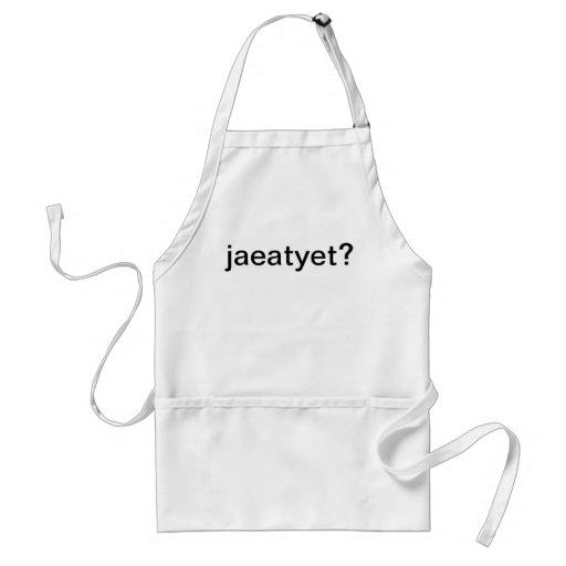 ¿jaeatyet? delantal