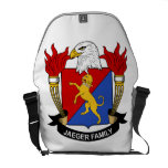Jaeger Family Crest Courier Bag