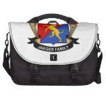 Jaeger Family Crest Laptop Bag